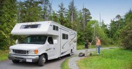 Wohnmobil in Kanada