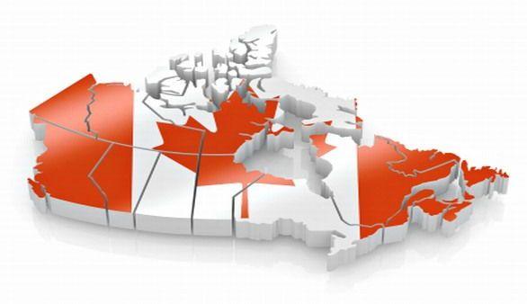 Kanada Umriss
