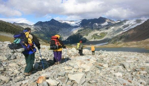 Hiking in Kanada