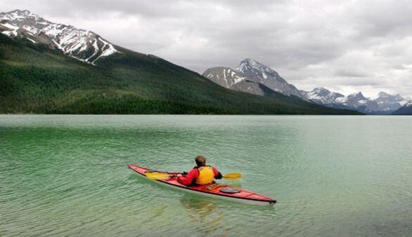 Mit dem Kayak in Kanada
