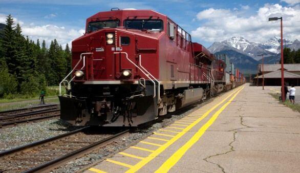 Zug in Kanada